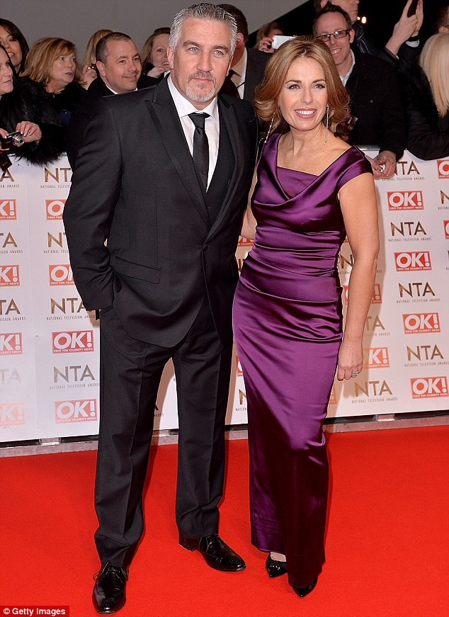 Paul Hollywood's wife is happy staying with her ex-husband even after his affair