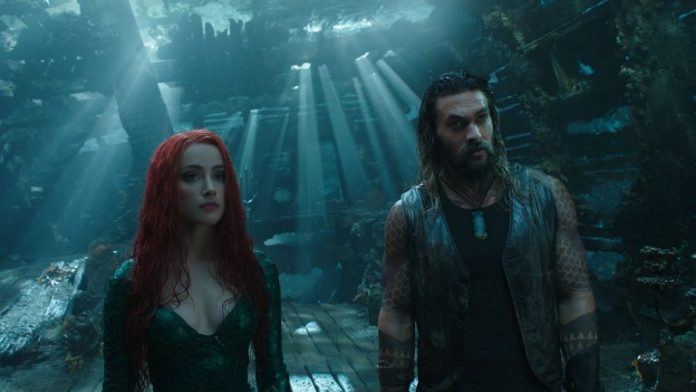 "Aquaman finally beats ""Dark Night"" and becomes the first DC Universe movie to cross $1 billion at the box office"
