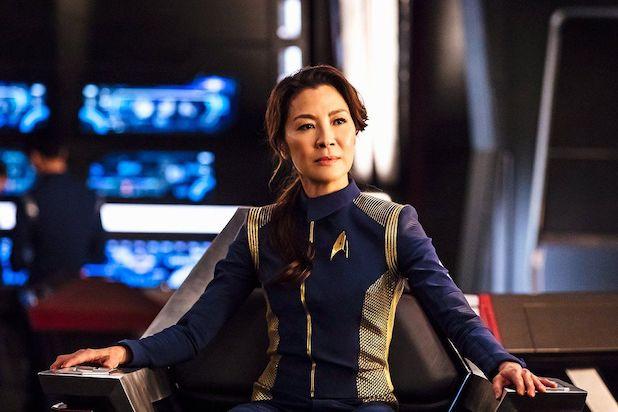 CBS now working on the Star Trek Series starring Michelle Yeoh