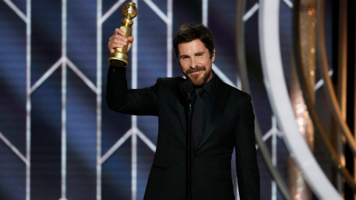 Christian Bale wins Best Actor Golden Globe Awards for the first time
