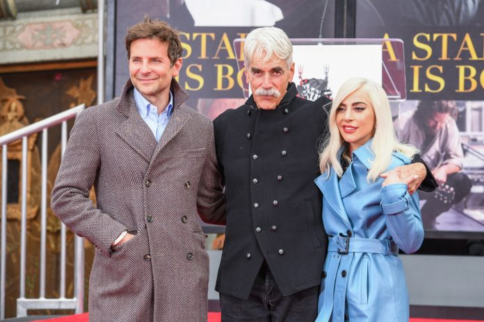Sam Elliott finally honored at Hollywood Ceremony, Lady Gaga extends her support