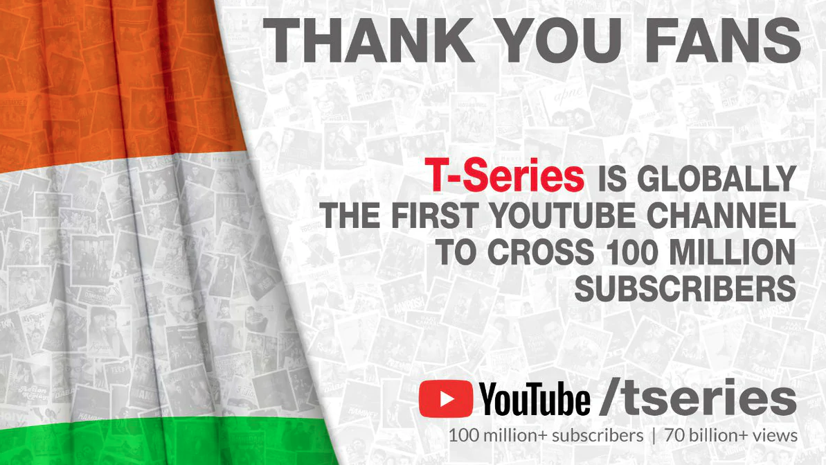 T-Series listed in Guinness Book of World Records after crossing 100 million Subscribers on YouTube