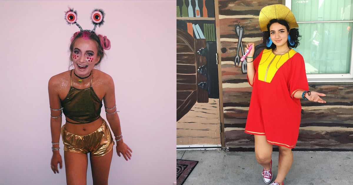 50 DIY Halloween Costumes That Even the Least Crafty Ladies