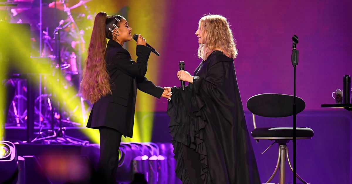 ariana-grande8217s-childhood-dream-came-true-singing-with-barbra-streisand-8220the-best-night-of-my-life8221