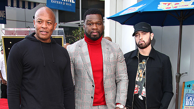 Eminem Honors 50 Cent During Walk of Fame Ceremony Speech