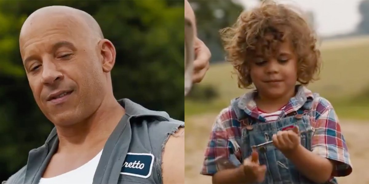 The first teaser trailer for'Fast & Furious 9' Reveals Dom bonding with his  son That Had Been named after Paul Walker's character Brian - Binge Post