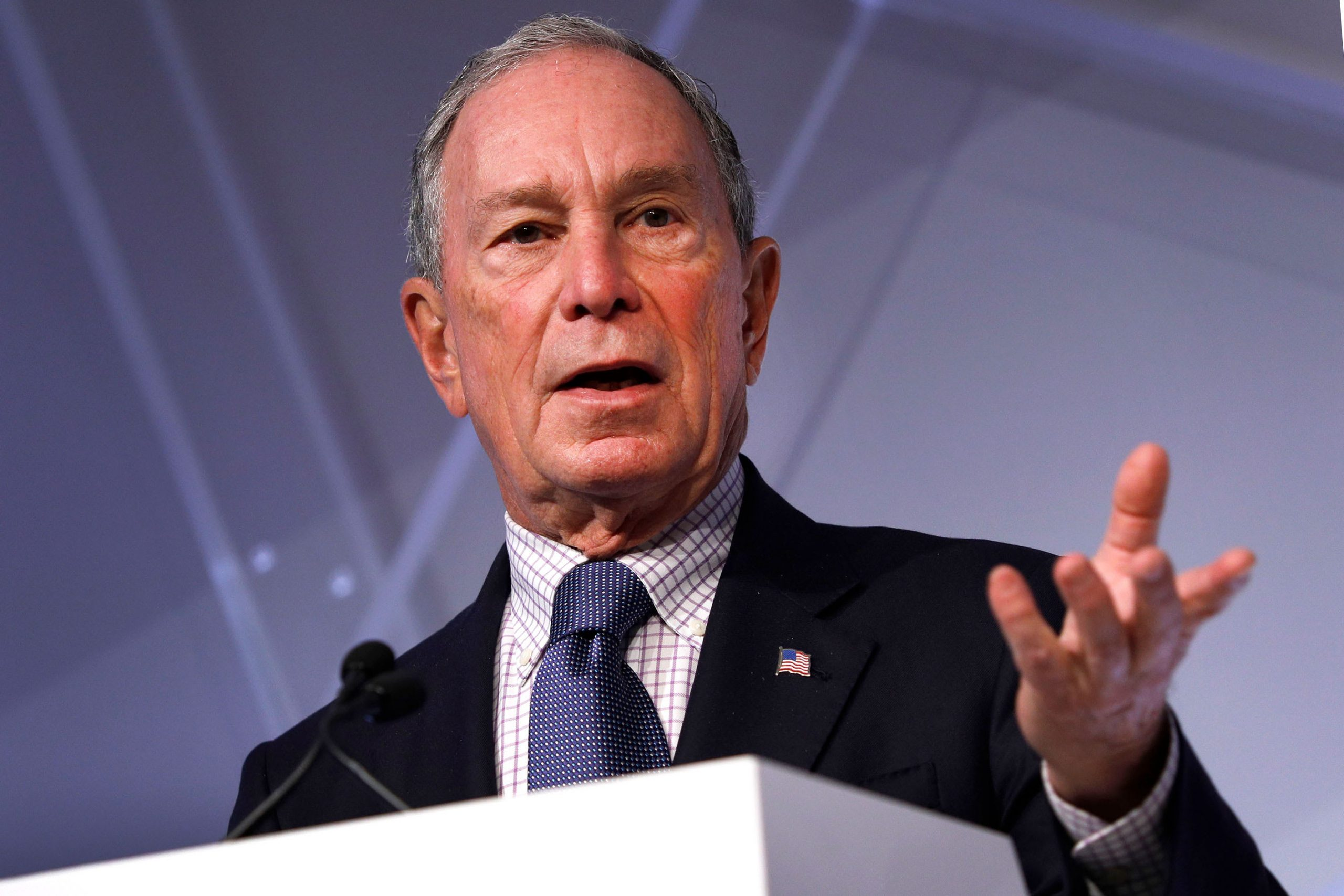 Bloomberg campaign says Tennessee vandalism