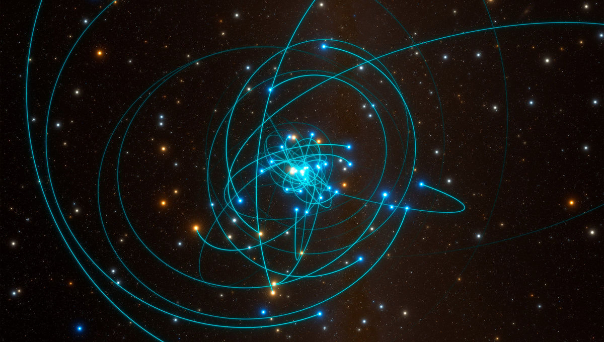 Astronomers discover a star dive-bombing our galaxy's supermassive black gap - BingePost