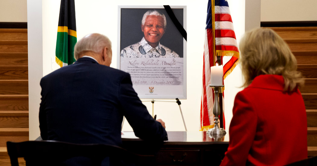 Biden Provides a Declare to His Biography: An Arrest in South Africa - BingePost