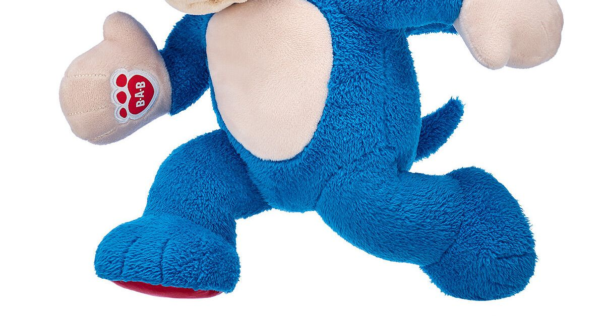 This Sonic The Hedgehog Plush Is Non Canon As A Result Of You May See His Toes Binge Post