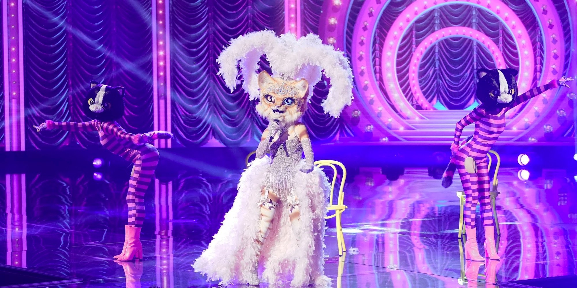 The Masked Singer Group B Finalist Kitty S Identity Predictions And Clues Binge Post