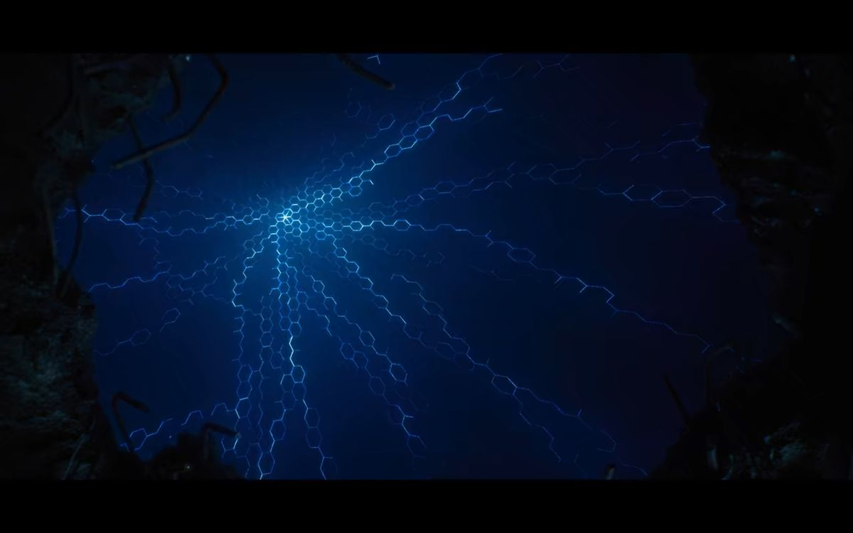 Altered Carbon season 2 angelfire in the sky above Harlan's World