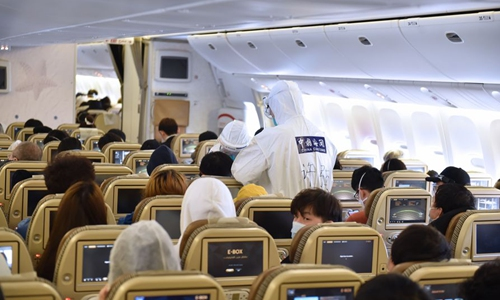 China slashes international flights in effort to curb coronavirus risk