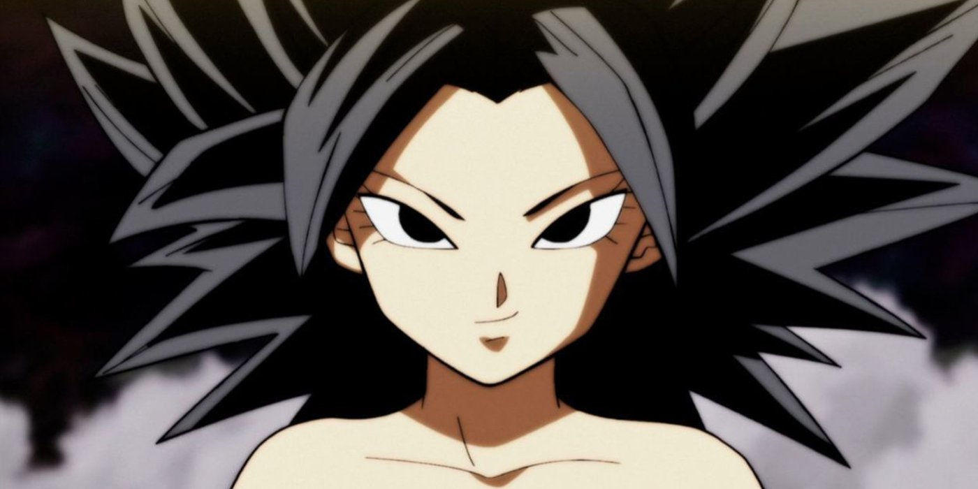 Dragon Ball Super S Caulifla The First Female Super Saiyan