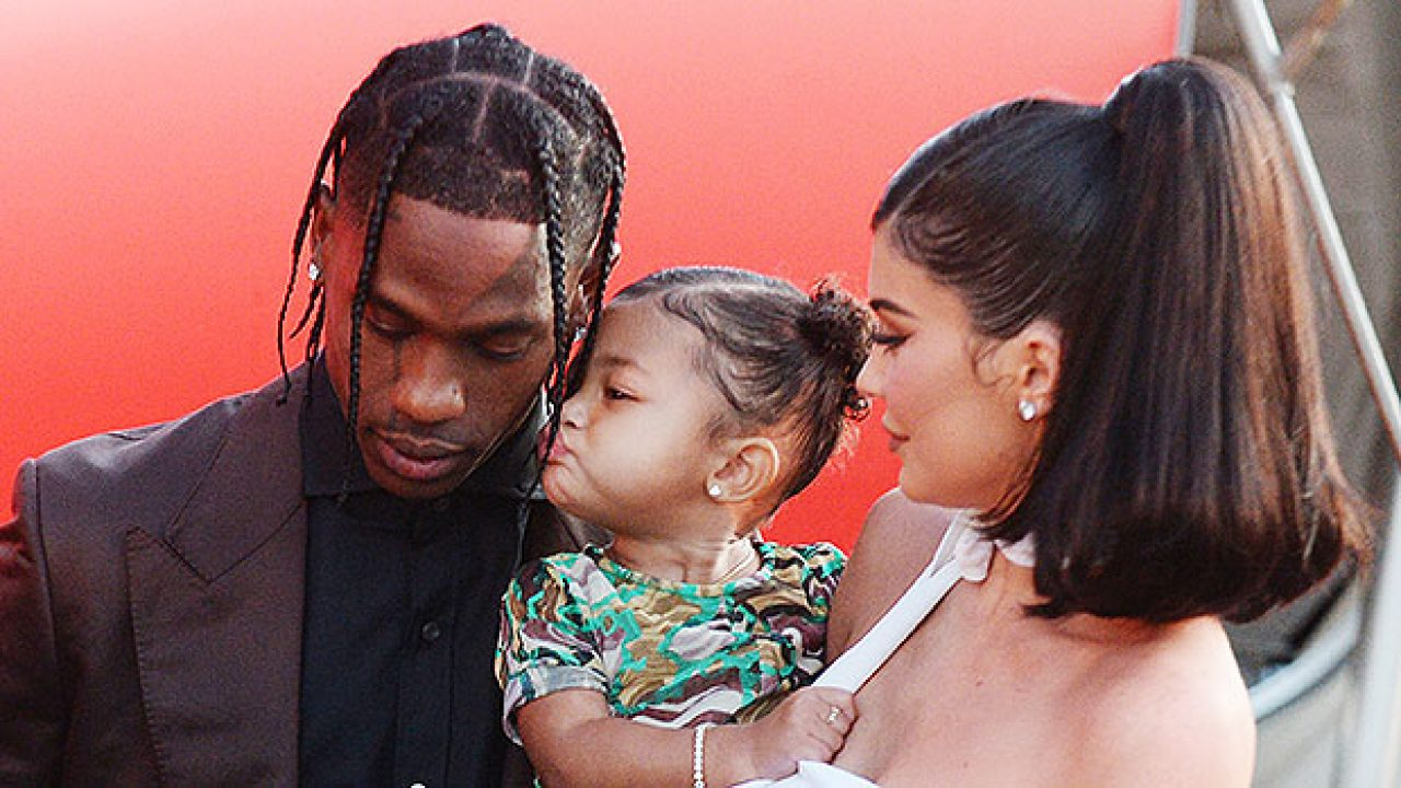 Stormi Webster, 2, Joins Daddy Travis Scott In The Recording ...