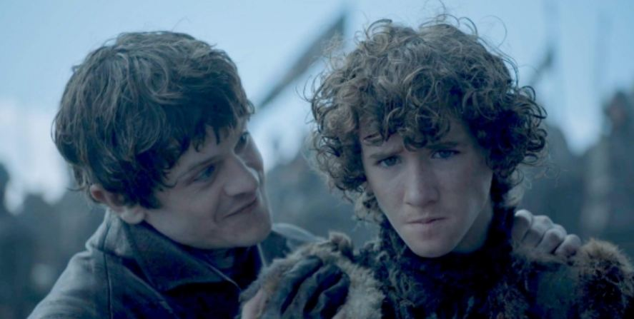 Art Parkinson as Rickon Stark