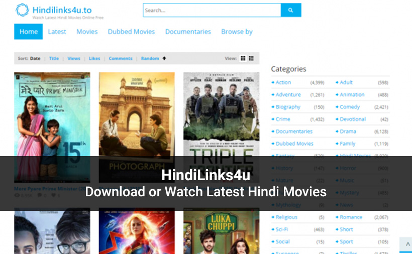 HindiLinks4u Website