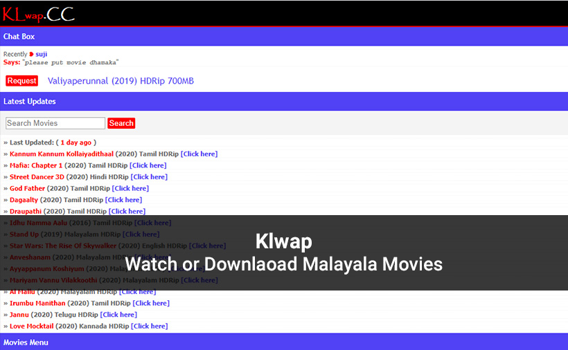 Klwap - Malayalam Movies