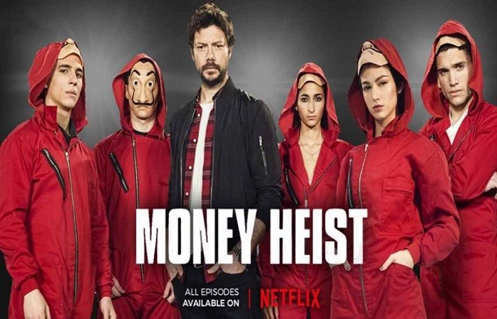 Image result for Money Heist season 1