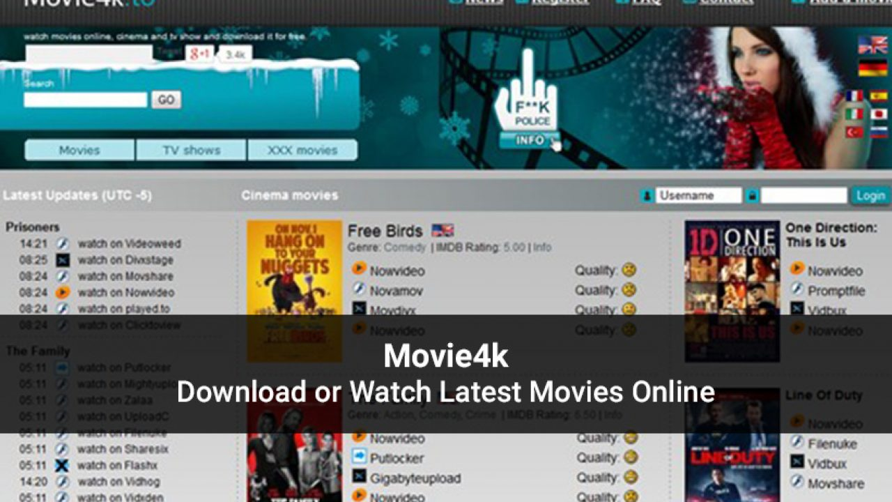 Movie4k Website 2020 Download Latest Movies Or Stream Online
