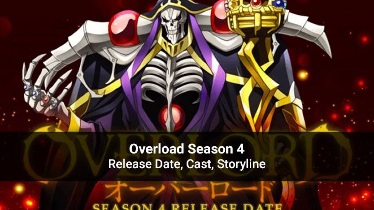 Overlord Season 4 Release Date Cast Plot More Details Revealed