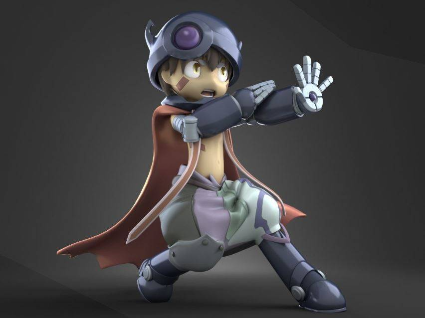 Reg in Made in Abyss