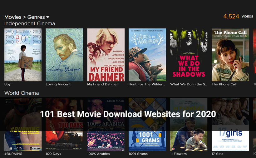 Movie Download Sites in 2020
