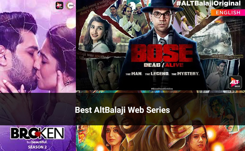 Alt Balaji Web Series Download