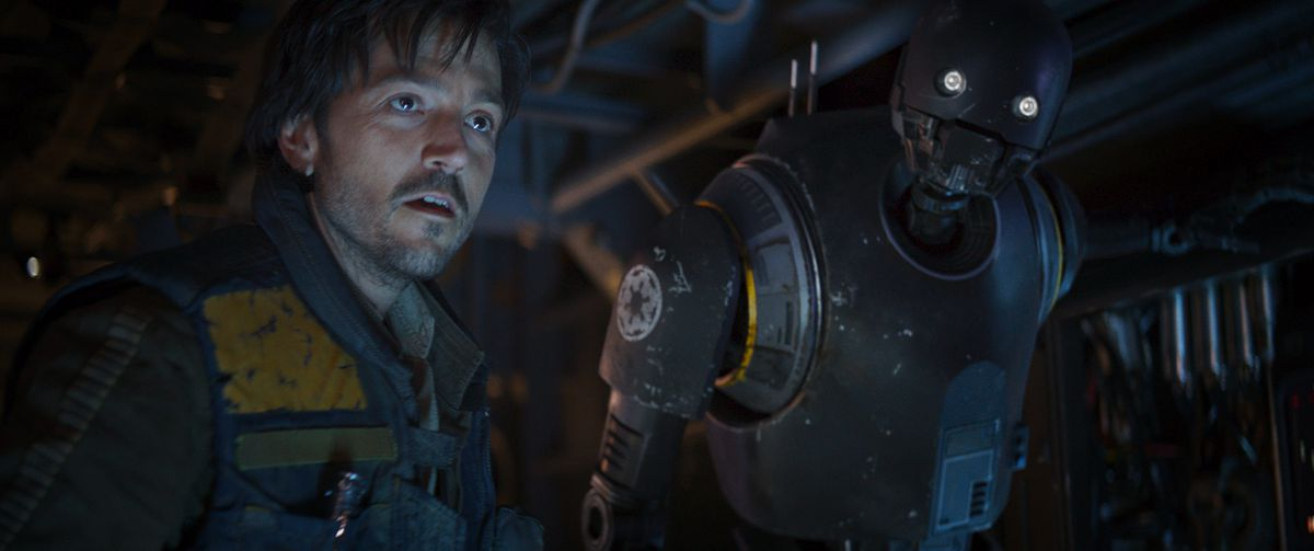 Rogue One: A Star Wars Story - Cassian Andor with K-2SO