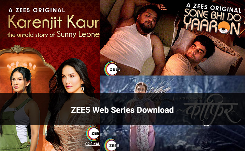 ZEE5 Web Series List