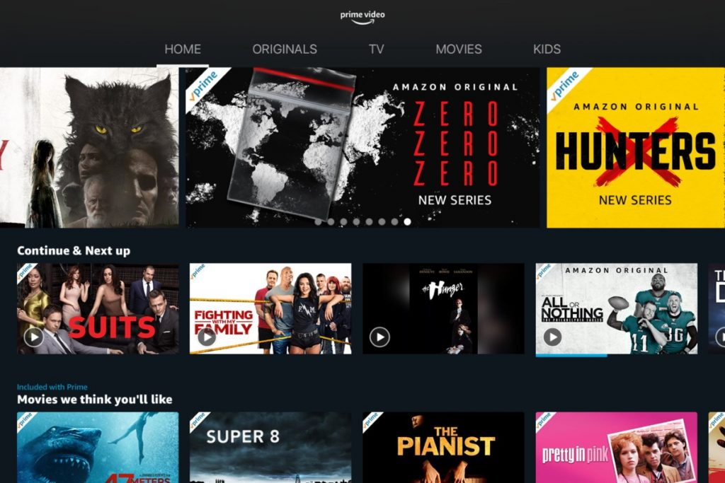 Amazon Prime Video- Famous OTT platform for movies and shows