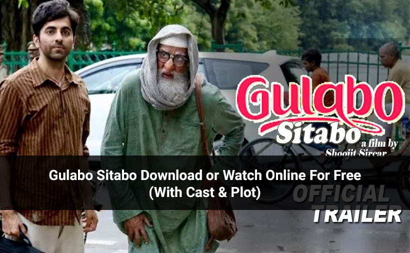 Gulabo Sitabo Download or Watch Online For Free (With Cast & Plot)