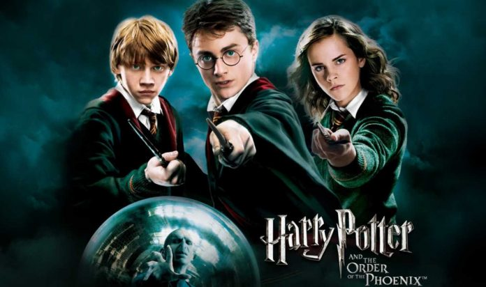 Index of Harry Potter
