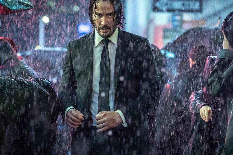Keanu Reeves in John Wick Movie
