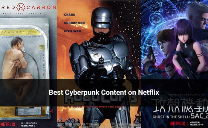 Best Cyberpunk Content on Netflix