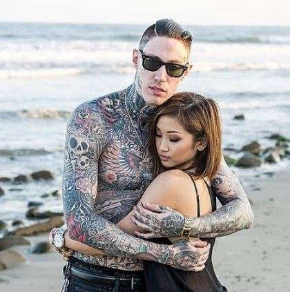 Baxter Neal Helson's son trace cyrus pic 1