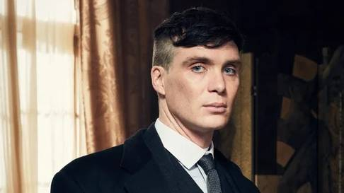 "Cillian Murphy as Thomas ""Tommy"" Shelby"