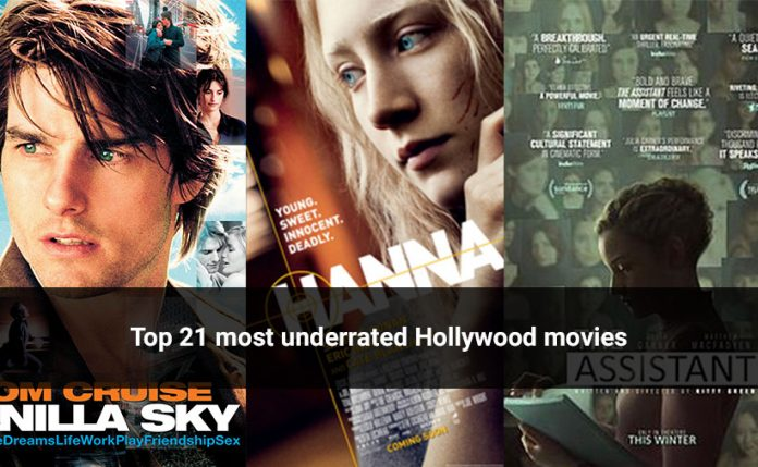 Top 21 most underrated Hollywood movies