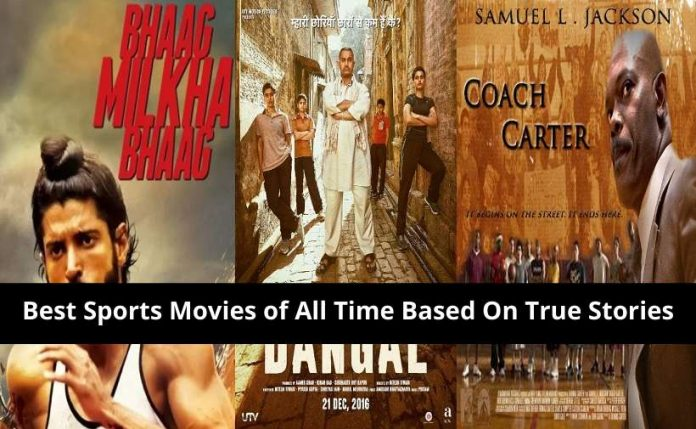 best sports movies based on true stories