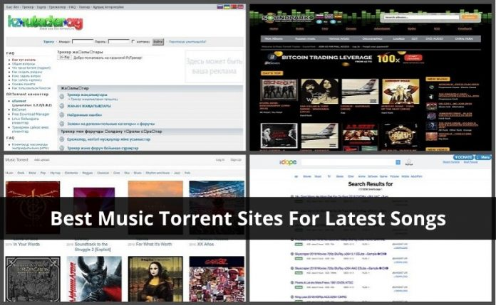 Best Music Torrent Sites For Latest Songs