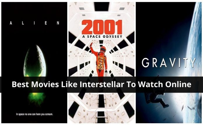 Best movies Like Interstellar To Watch Online