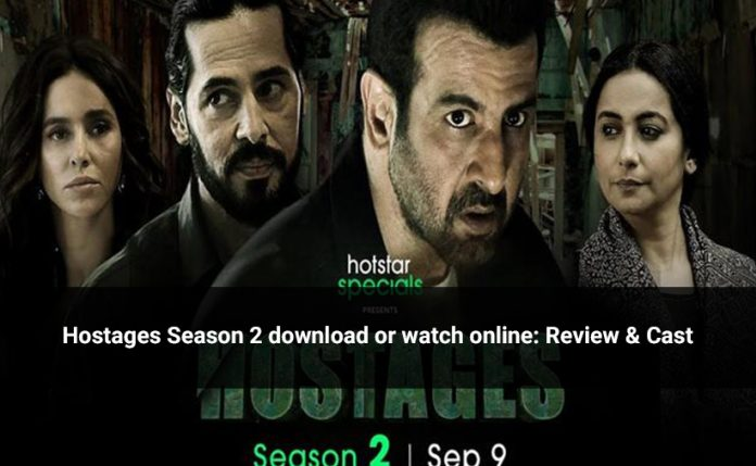 Hostages Season 2 download on app or watch online: review & Cast