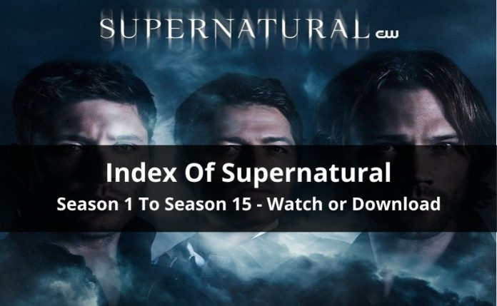 Index Of Supernatural