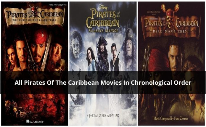 Pirates Of The Caribbean Movies In Chronological Order