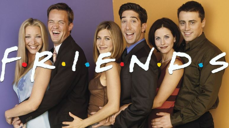 friends series poster