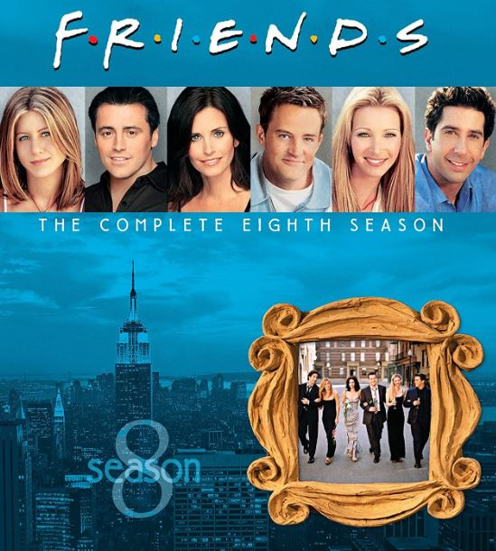 index of friends season 8