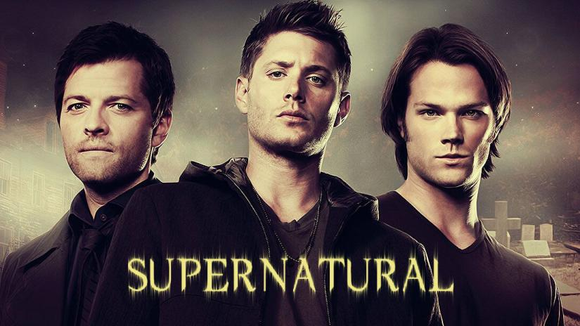 supernatural tv series poster