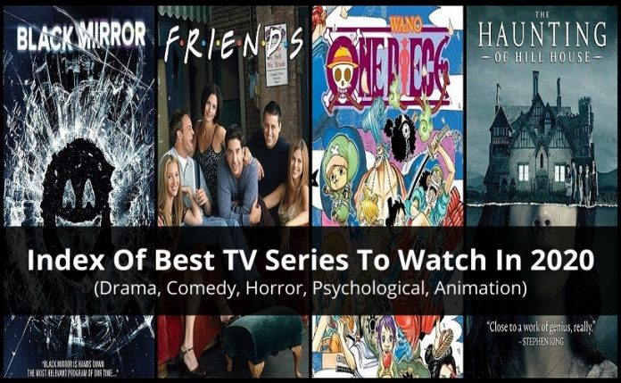 Index Of Best TV Series To Watch In 2020