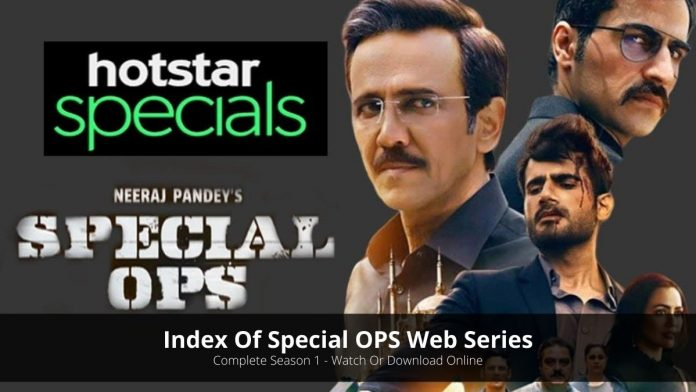Index Of Special OPS