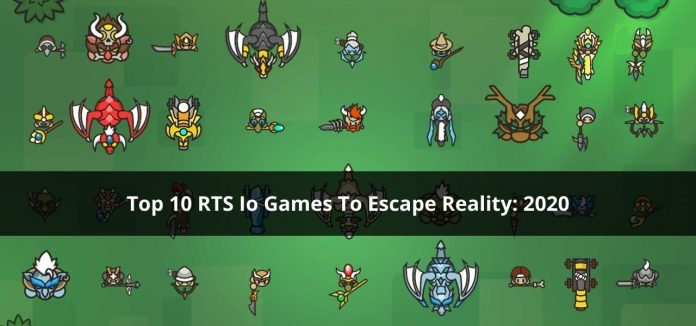 Top 10 RTS Io Games To Escape Reality_ 2020